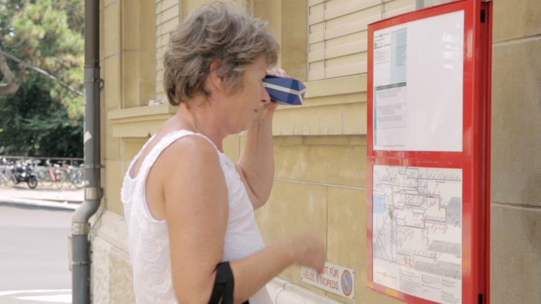 VoiSee® mobile Sehhilfe zur Ausschnittsvergrößerung