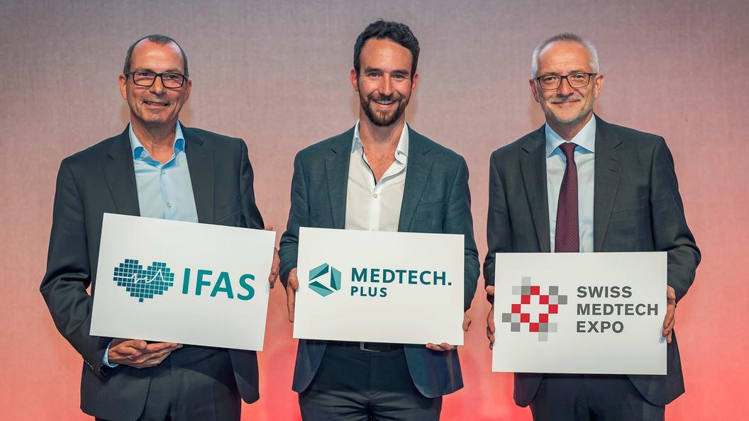 Medtech.plus ist die digitale Erweiterung der Swiss Medtech Expo und neu auch der IFAS.