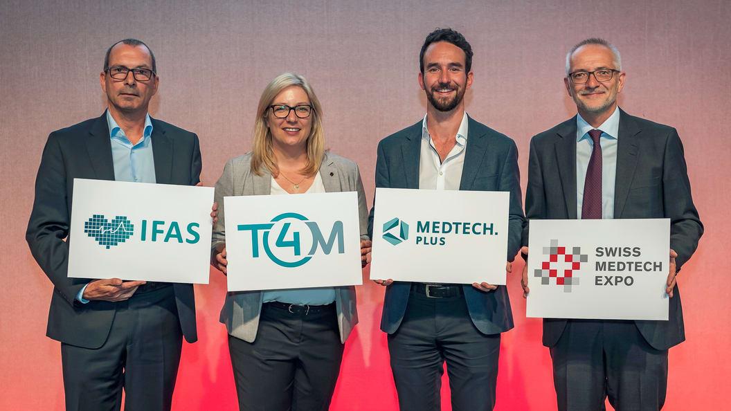 Dank Medienpartnerschaft mit der T4M in Stuttgart vernetzt Medtech.plus auch international.