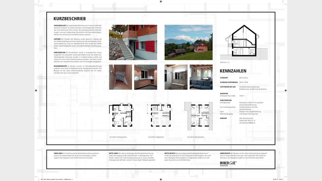 Ersatzneubau Wohnhaus Details