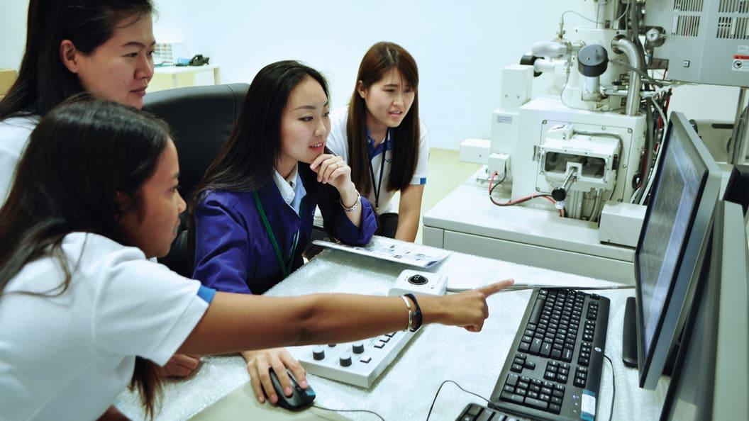 R&D laboratory center