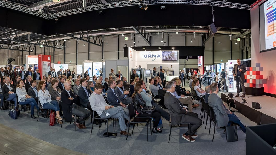 Full ranks at the Innovation Symposium: The presentations on MDR attracted great interest
