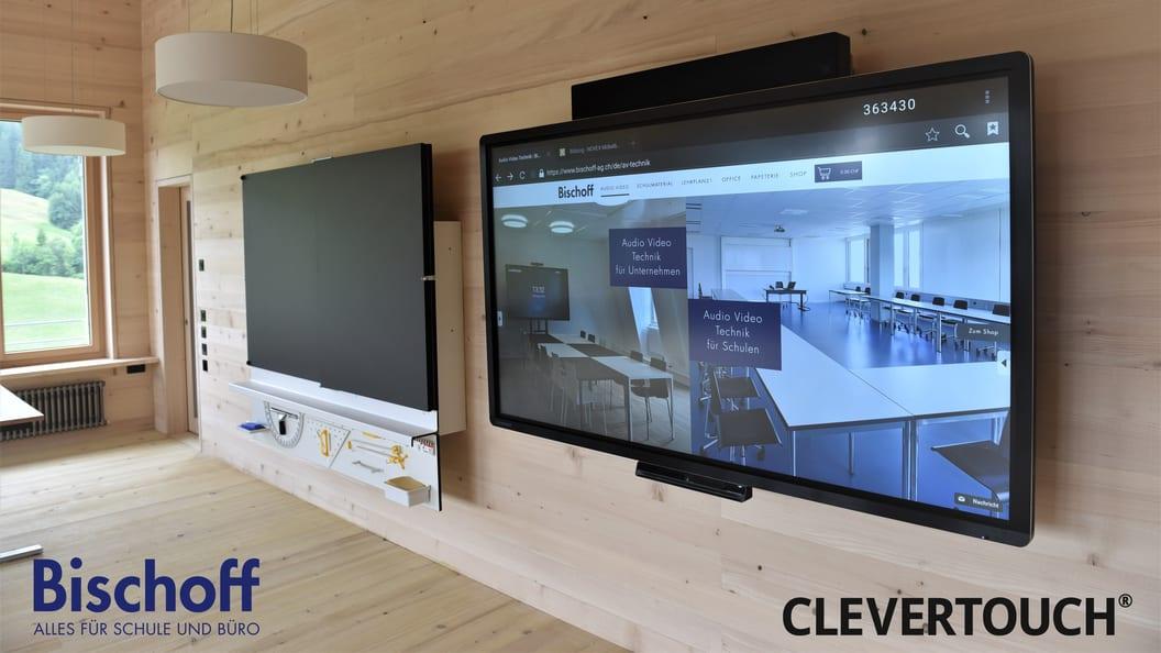 Clevertouch: interaktive Bildschirme