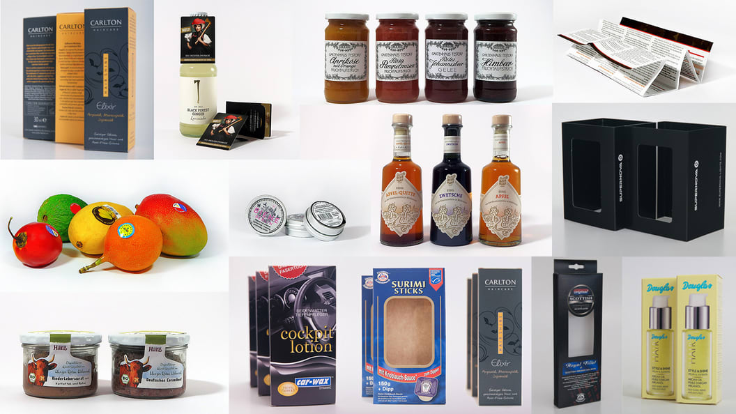 Labelling & packaging solutions from E-TIKETT & BOXES.ONLINE