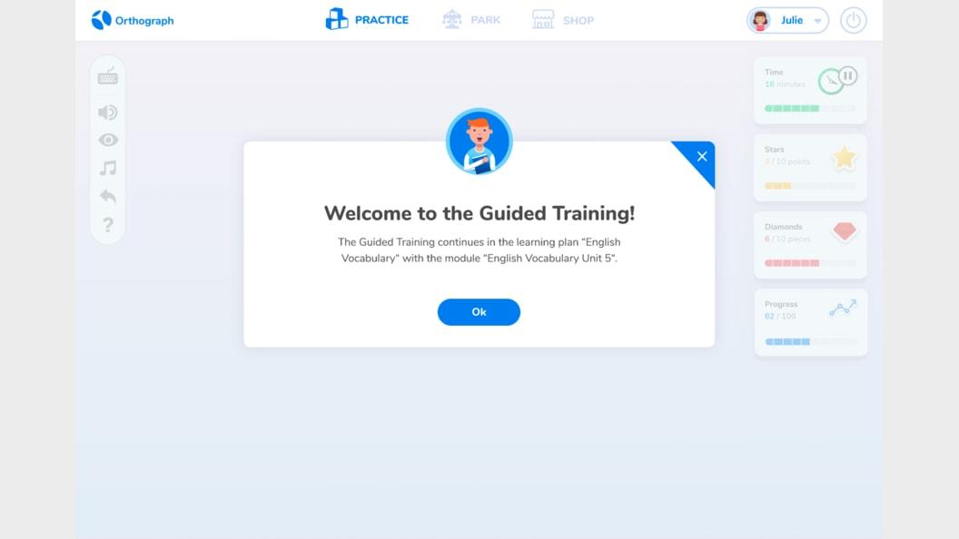 Willkommen «Geführtes Training»