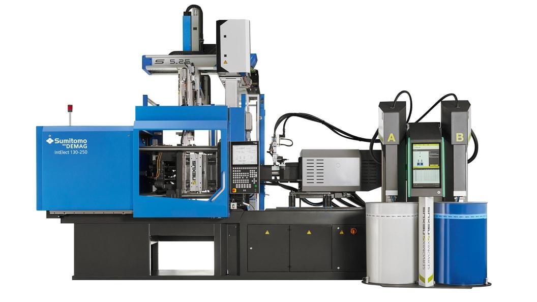 Das neue LSR-Paket von Sumitomo (SHI) Demag ist für IntElect-Maschinen 50 bis 180 Tonnen erhältllich