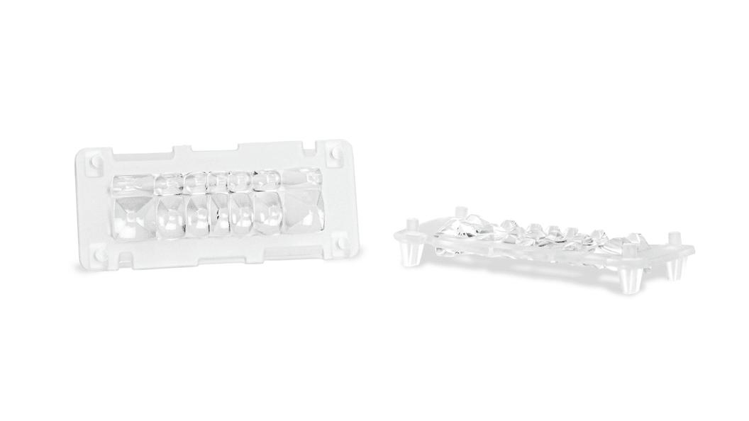 Lichtleiter für LED-Matrix-Scheinwerfer