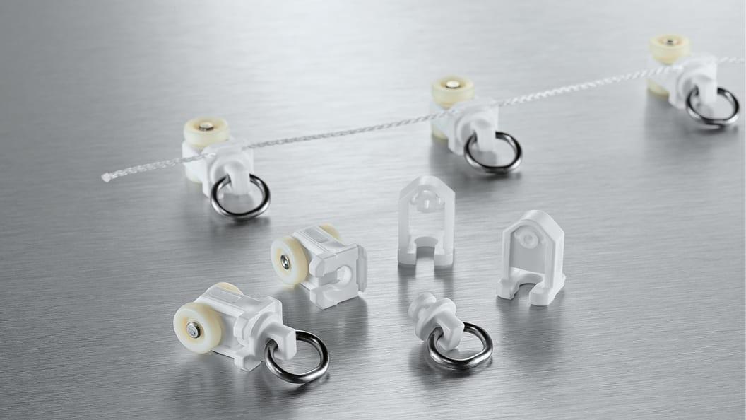 2K Roller verbunden mit Kordel (CardaFlex)
