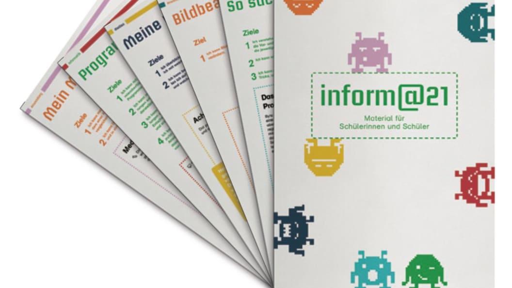 Das «inform@21» der 5./6. Klasse ist in fünf in sich abgeschlossenen Themen gegliedert.