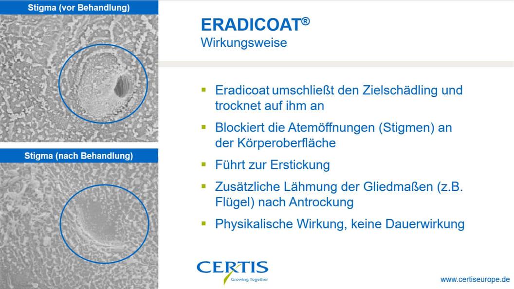 How ERADICOAT® is working