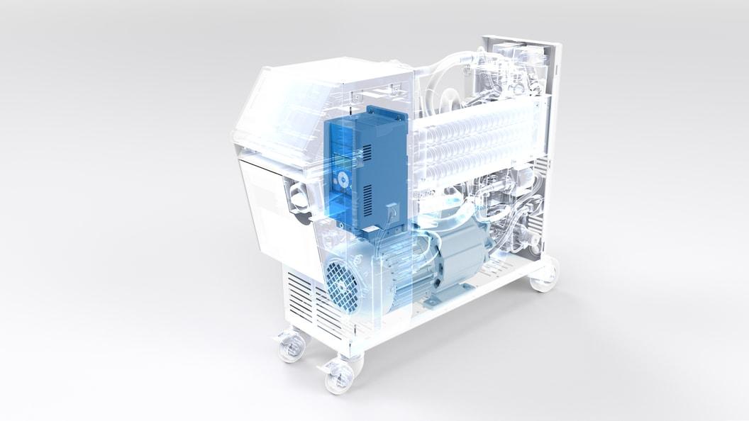 Thermo-5 mit geregelter Pumpe