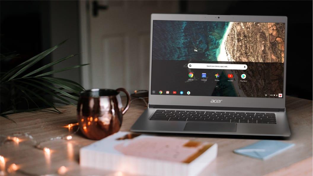 Das Chromebook 514: das ideale Notebook für jede Lehrperson.