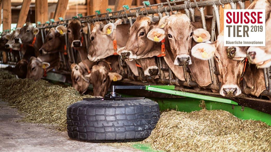 Smart Stall - Ferngesteuerter Futterschieber
