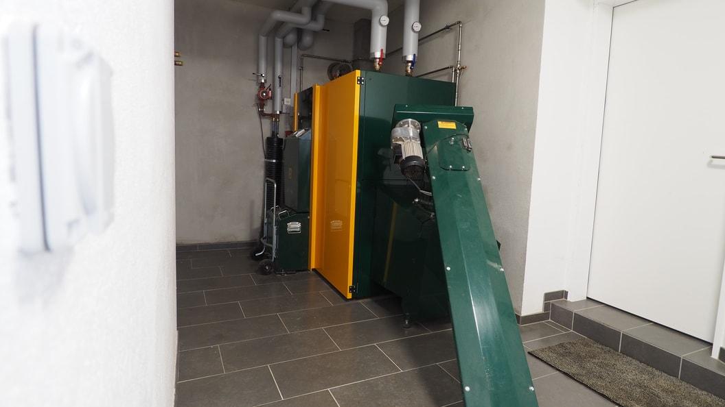 KWB Biomasseheizung für Hackschnitzel oder Pellet