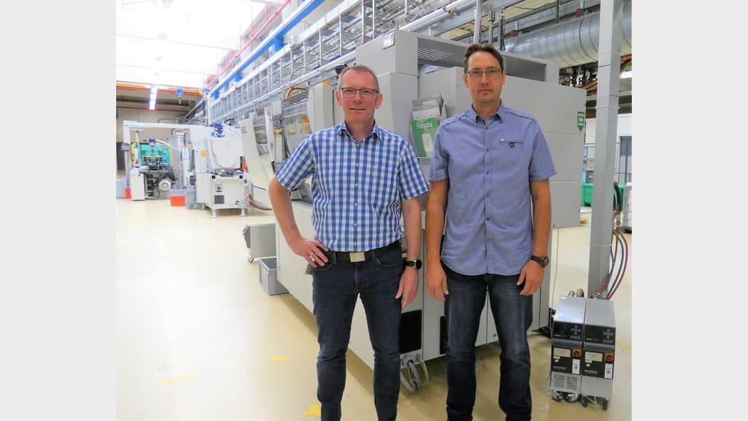 Andrej Gossen (r.) und Rainer Koops (Bildquelle: Stevanato Group)