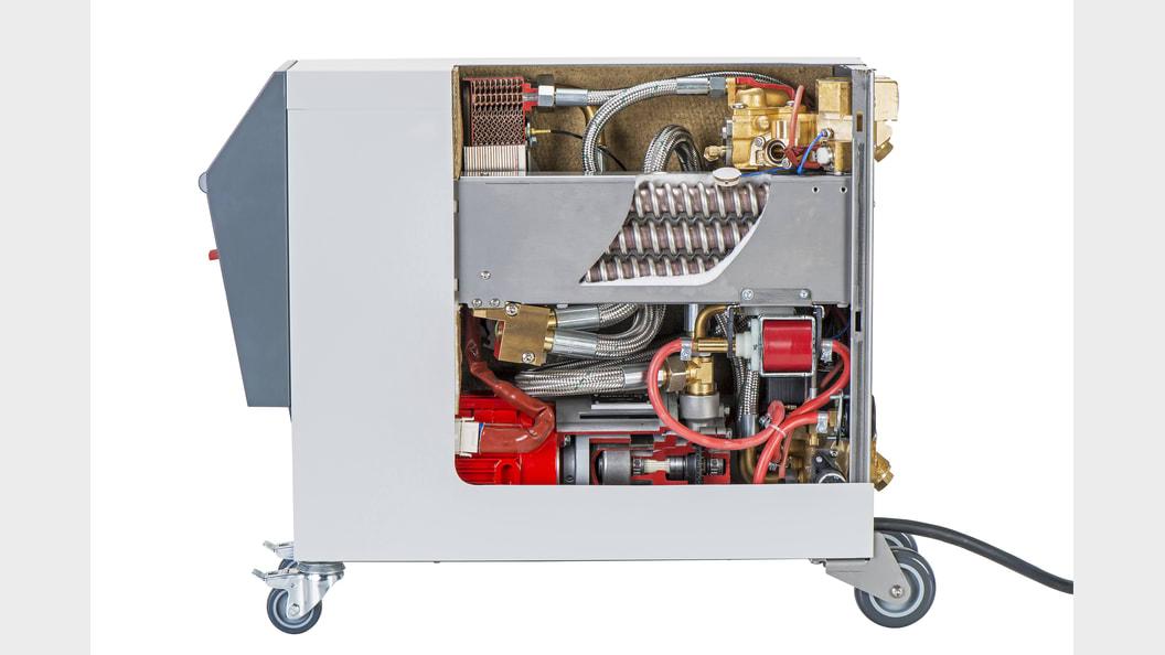 Temperiergerät neuester Technologie wie sie bei Balda Medical in Bad Oeynhausen zum Einsatz kommen.