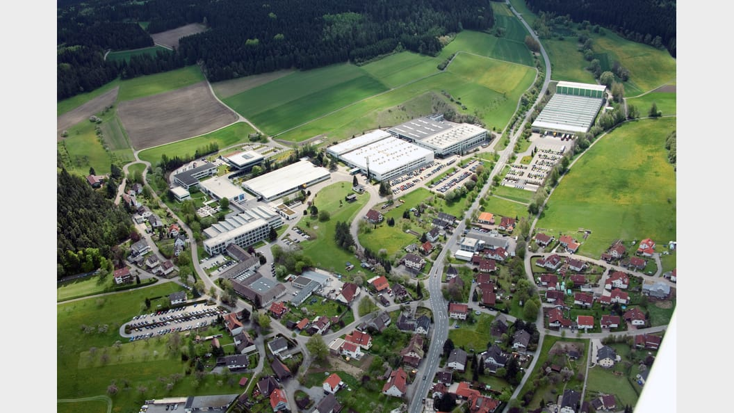 Luftbild Fischer in Tumlingen (Bild: Fischer)
