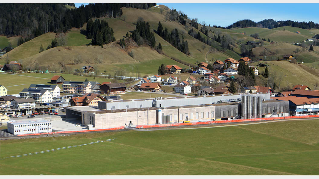 Das Produktionswerk Escholzmatt von B. Braun in der Schweiz (Bild: B. Braun)