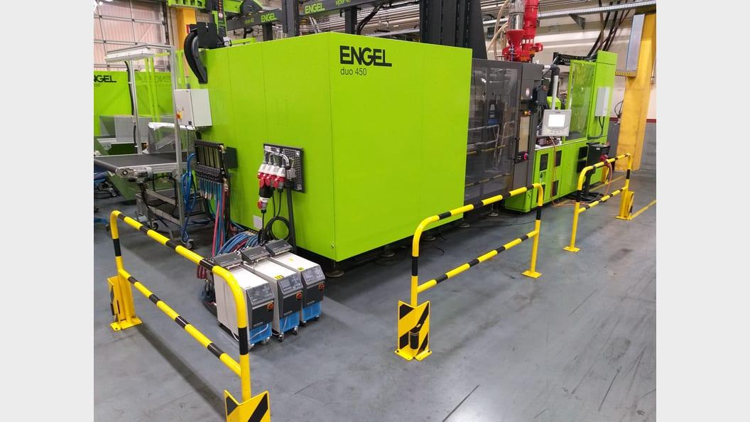 Produktionsanlage bei Roth Plastics Technology