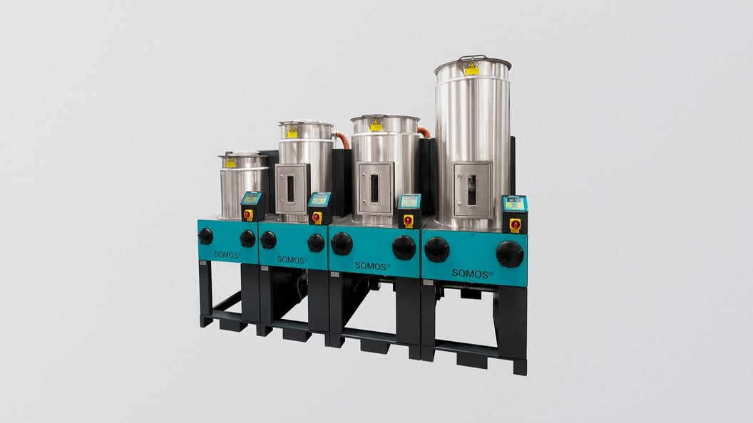 SOMOS® Stationäre Granulattrockner RDF