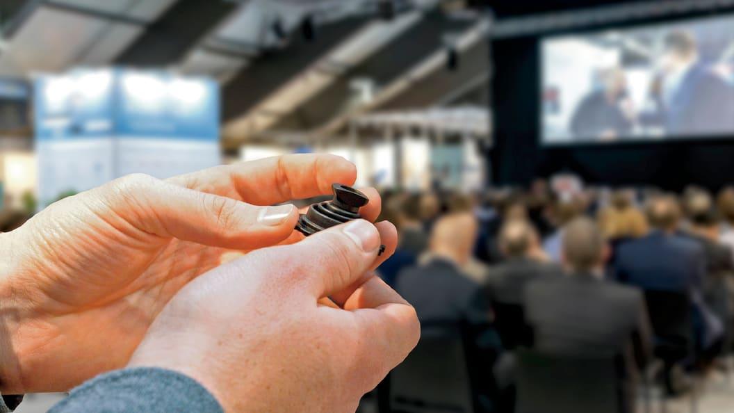 Trade fair und symposium at Swiss Plastics Expo from January 21 to 23, 2020