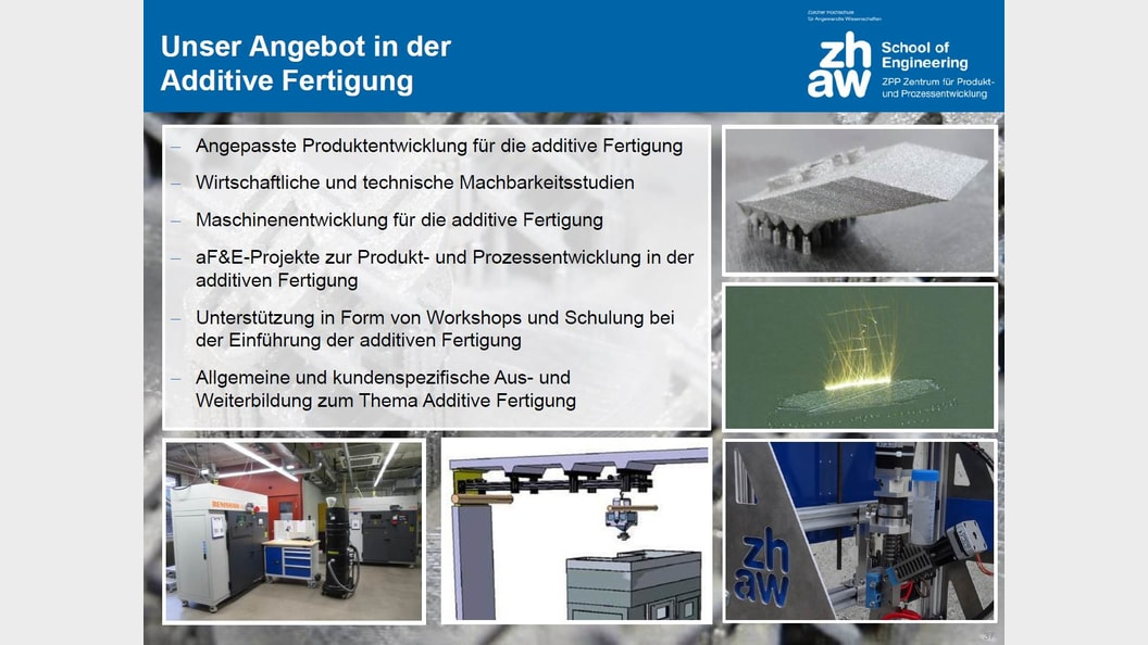 Additive Fertigung am ZPP