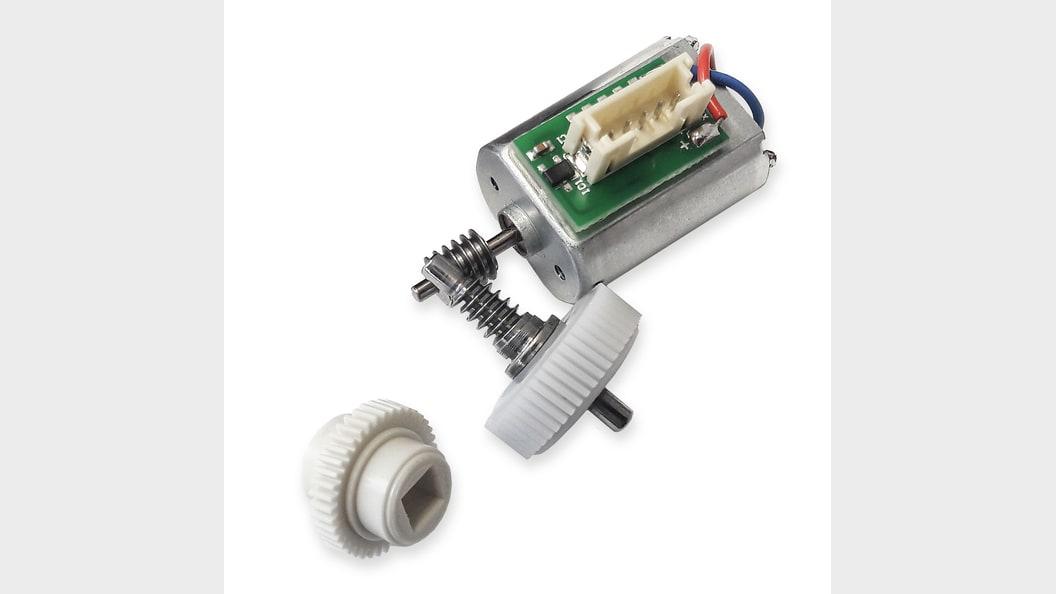 Bild 1: Komponentes eines Antriebes