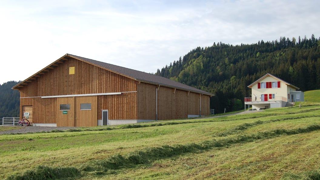 Laufstall in Schindellegi SZ mit 22 Tierplätzen