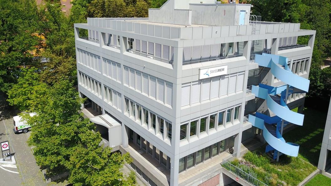 Das Gebäude der Swissmem-Academy in Winterthur