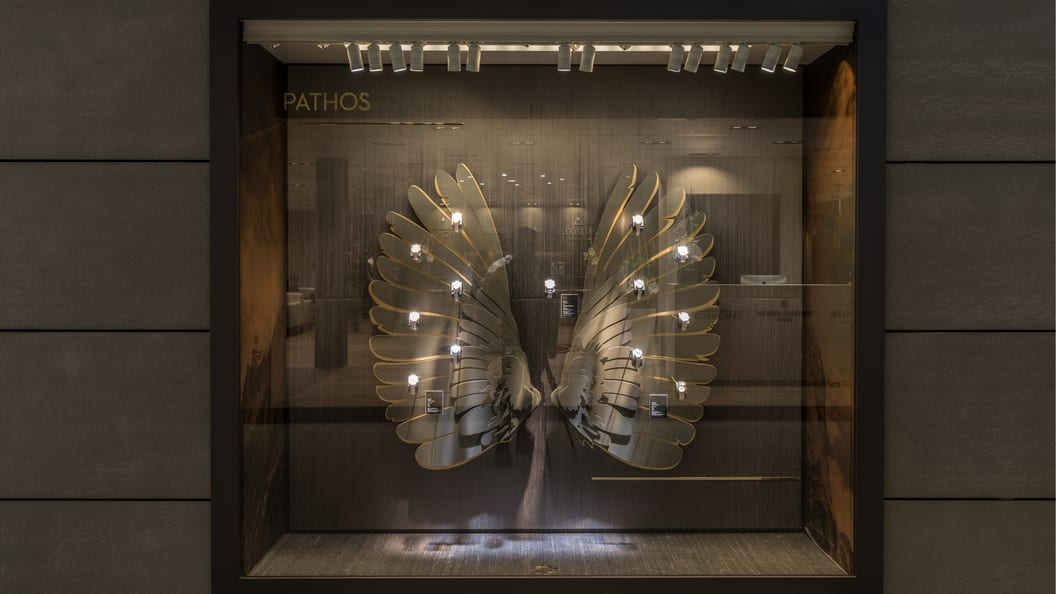 Angel wings in 3D for Baselworld