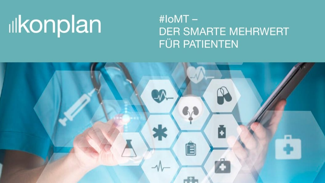 Internet of Medical Things: Mit IoMT Medtech smart gestalten