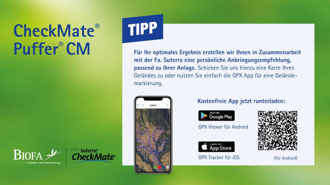 CheckMate® Puffer® CM - Tipp zur richtigen Anbringung