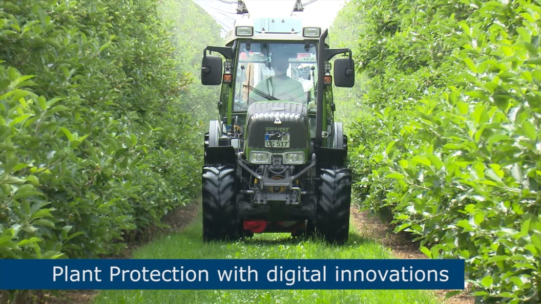 Plant protection with digital innovations
