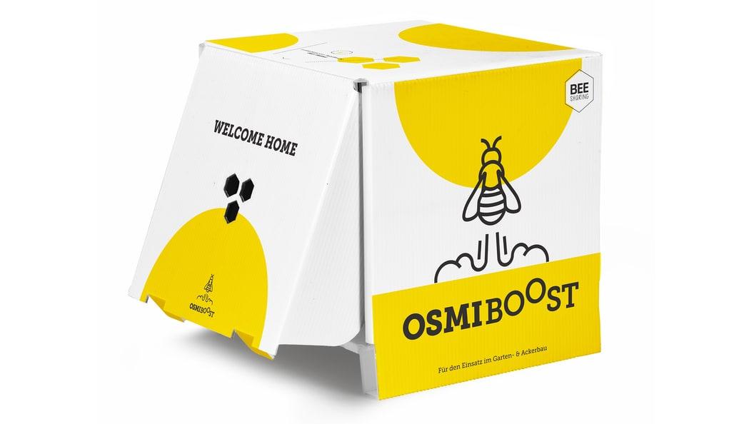 "Nesting aid ""OsmiBOOST"" for masonry beekeeping"