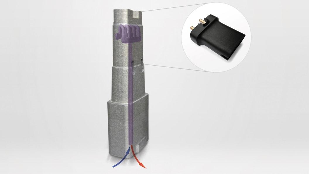 Konturnahe Kühlung im Werkzeugeinsatz
