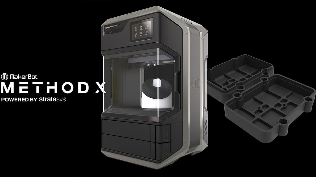 MakerBot Method X - Der professionelle FDM 3D-Drucker für echtes ABS