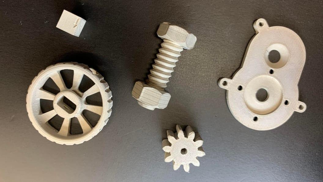 Metallteile 3D-gedruckt mit JLOX Metall-Filament