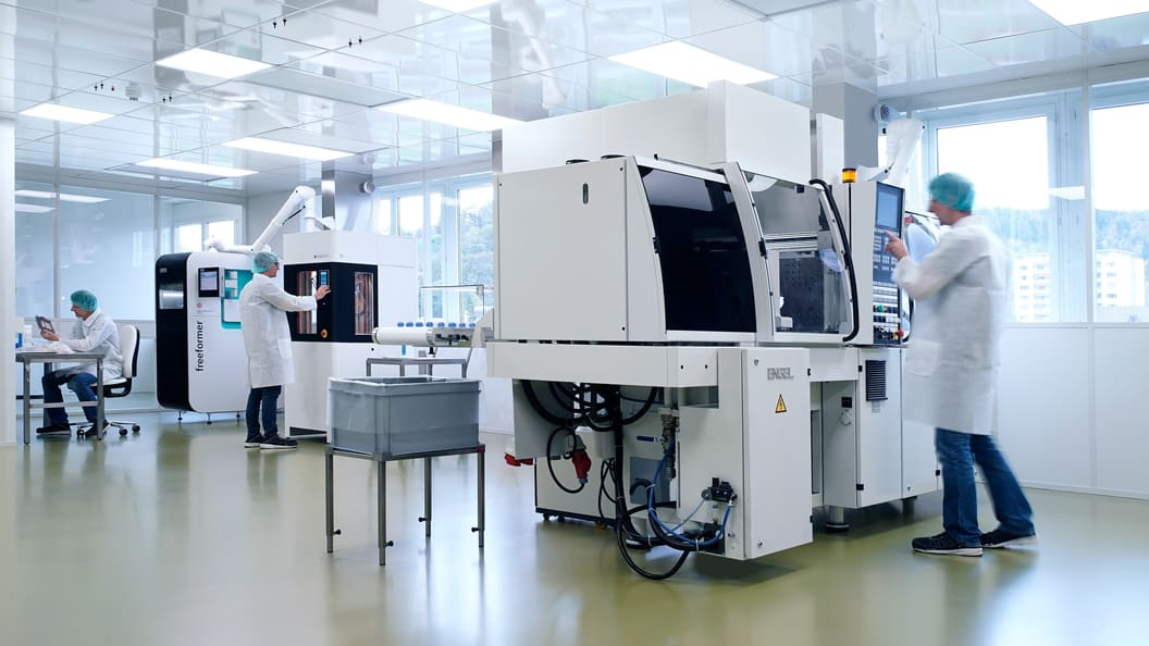 Reinraum Additive Fertigung bei SAMAPLAST AG