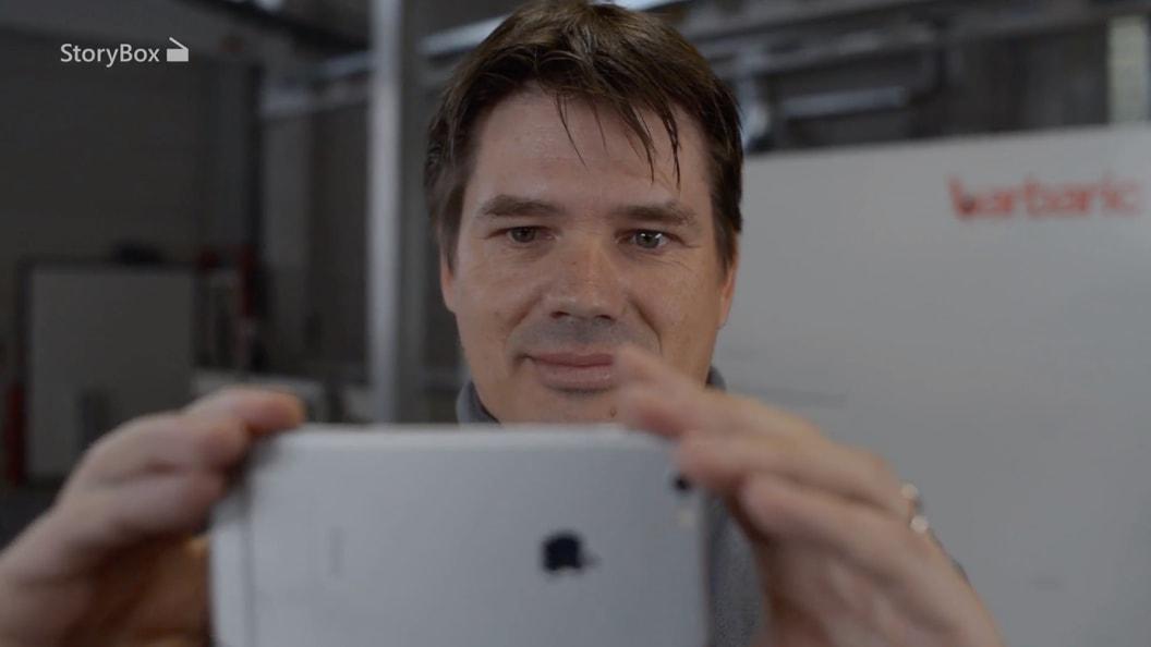 Mit StoryBox sofort Videofilmen mit dem Smartphone
