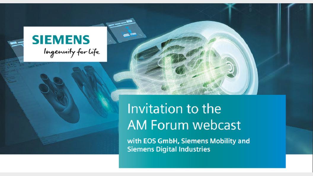 Einladung zum AM Forum Webcast - 25.03.2020