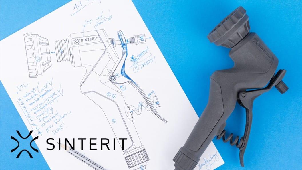 SLS Printing by Sinterit
