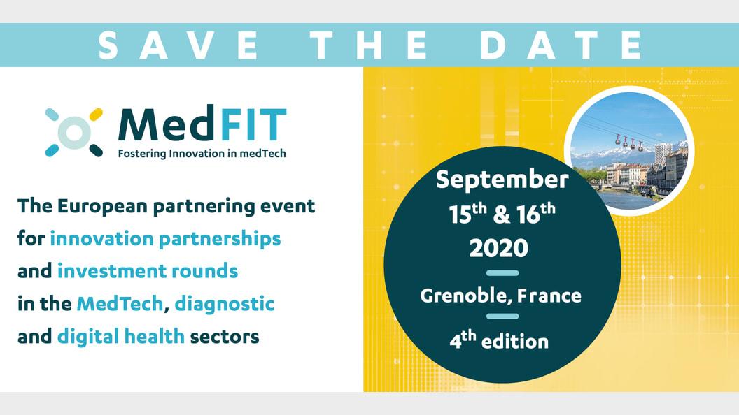 MedFIT findet am 15. und 16. September 2020 in Grenoble, Frankreich, statt.