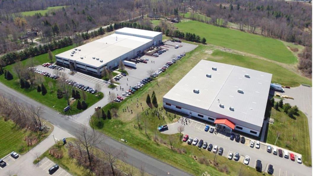Ansicht von WITTMANN BATTENFELD Inc. in Torrington, Connecticut