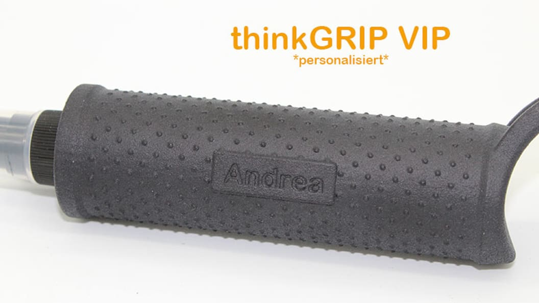 thinkGRIP VIP - individualize your thinkGRIP according to your wishes