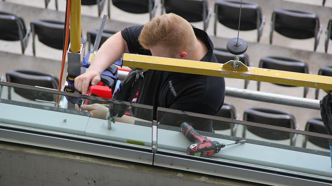 Erneuerung der technischen Ausrüstung im Stade de Suisse
