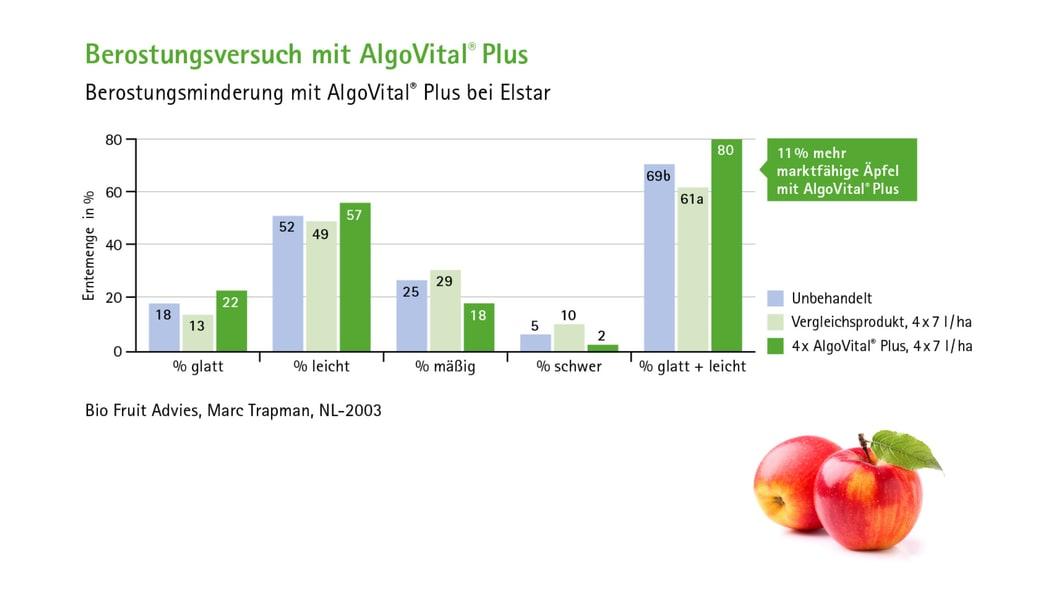 Berostungsminderung mit AlgoVital® Plus