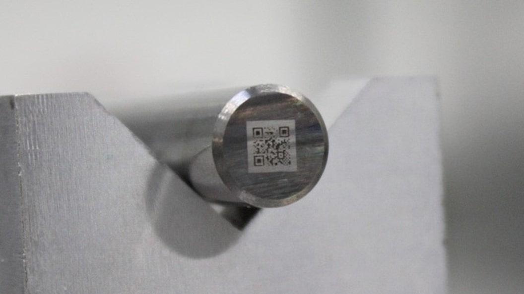 QR-Code Beschriftung der Werkzeuge