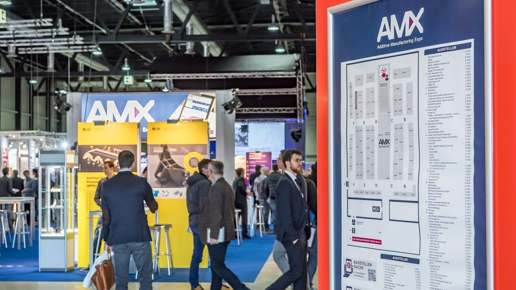 Vom 14. bis 15. September 2021 wird die AM Expo wieder zum Treffpunkt der Additiven Fertigung.