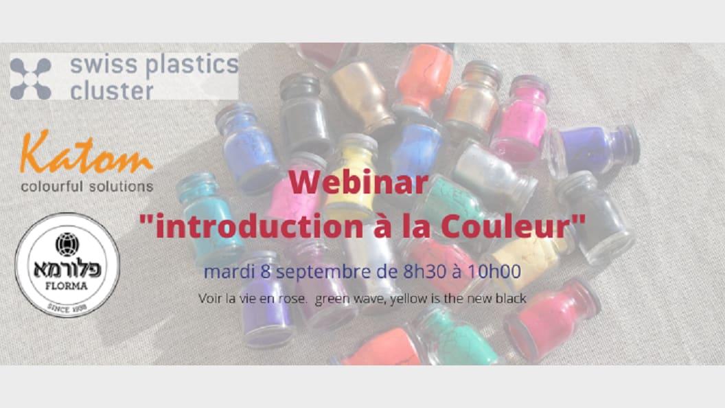 """Webinar session """"Colours in plastics"""""""