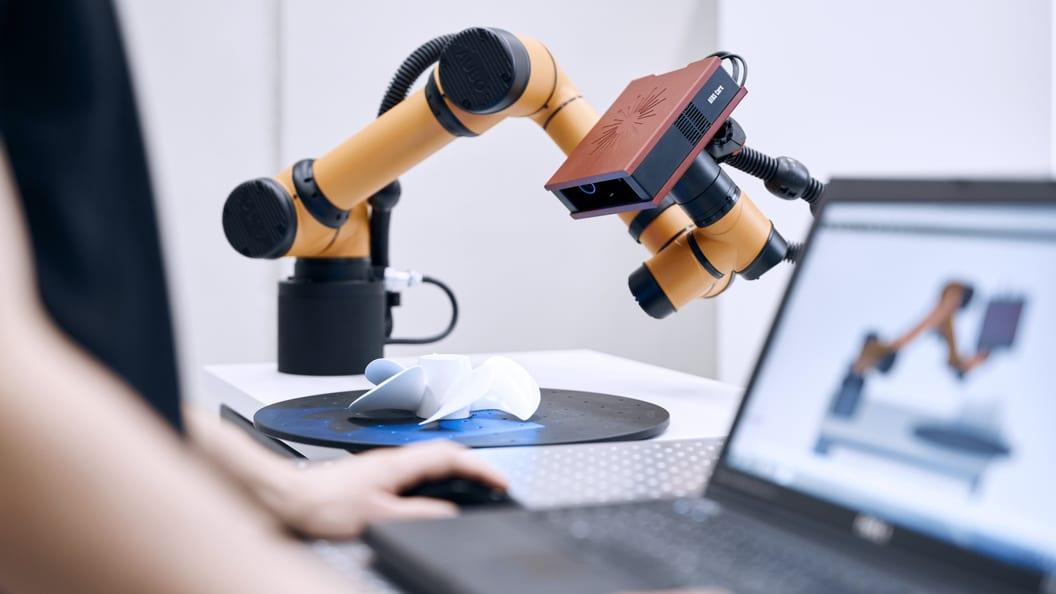 ATOS Core with ATOS ScanCobot